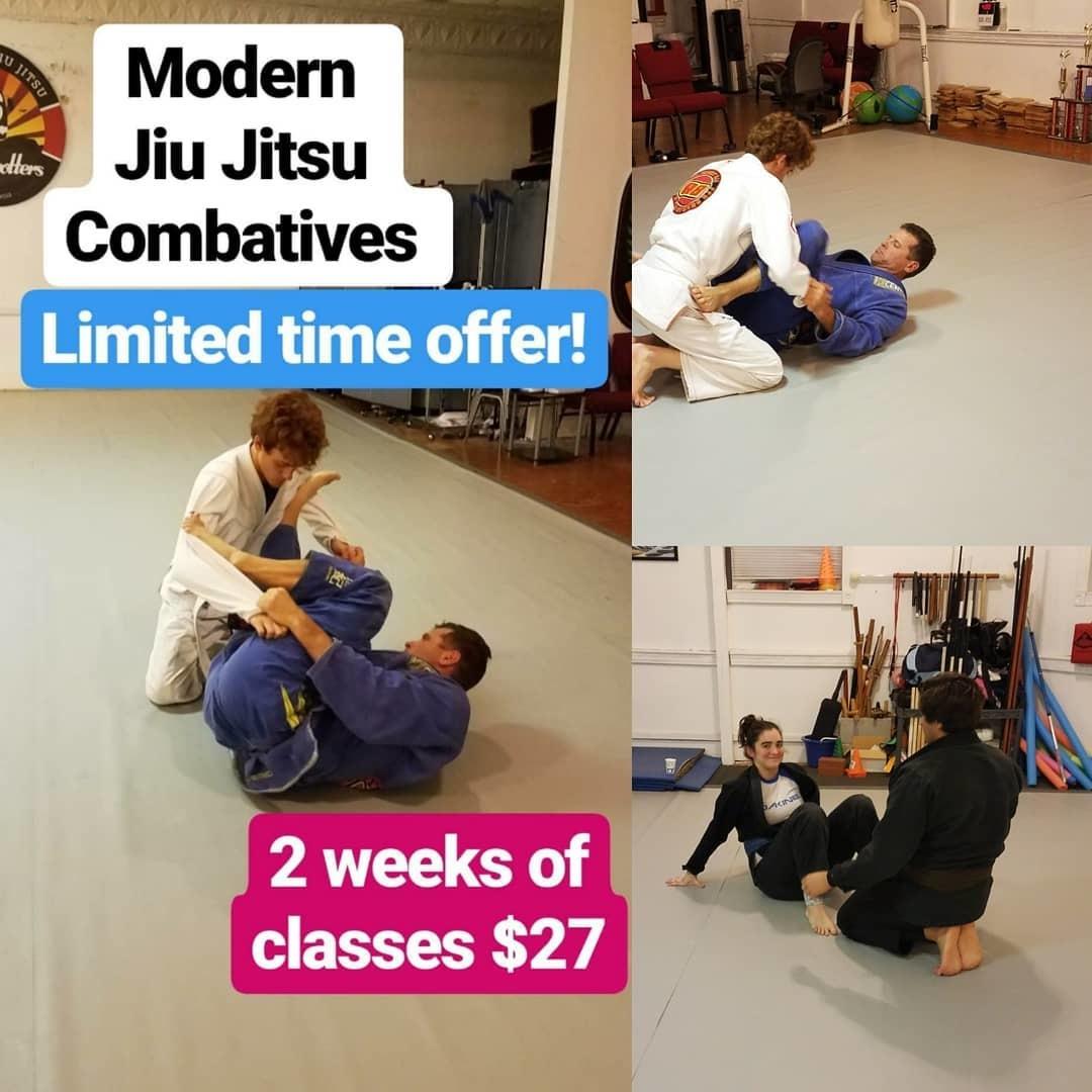 2 Weeks of Brazilian Jiu Jitsu only $27